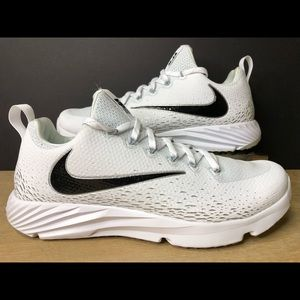 Nike Vapor Speed Turf Shoes White Black 833408-111
